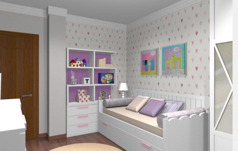 Proyecto 5: dormitorio juvenil